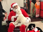 Santa with a Buddy!