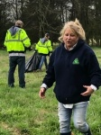 Windy, Linda and Charlie helping in the Hay Field